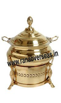 BRASS CHAFING DISH FOR CATERING AND CATERERS