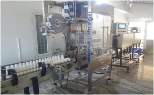 High Speed Shrink Sleeve Labeling Machine 300M