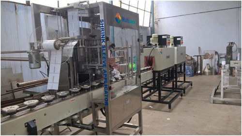 Even Sleeve Labeling Machine