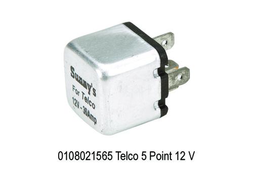 Telco 5 Point 12 V, Square Aluminium Body