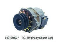 Alternator Assy. T.C. 24v (Pulley)