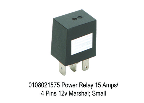 Power  Micro Relay 15 Amps4 Pins 12v Marshal;