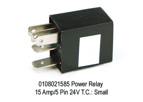 Power  Micro Relay 15 Amp5 Pin 24V T.