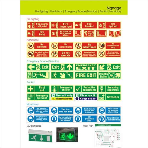 Emergency Signages