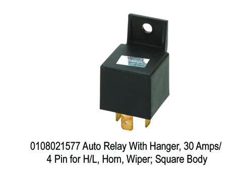 Auto Relay With Hanger, 30 Amps 4 Pin for HL,