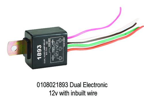 Dual Electronic 12v with inbuilt wire