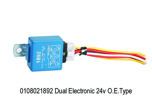 Dual Electronic 24V With Socket & Wire