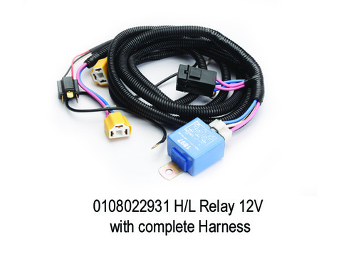 HL Relay 12V With Complete Harness