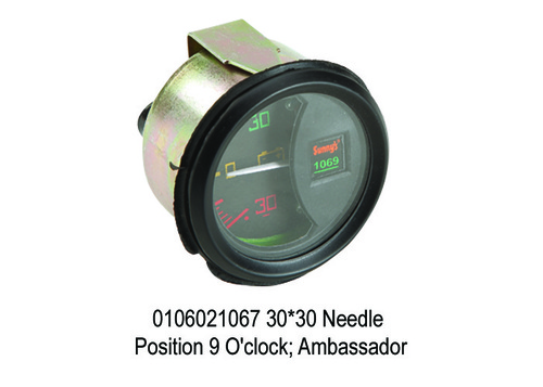 Needle Position 9 O'clock; Ambassador