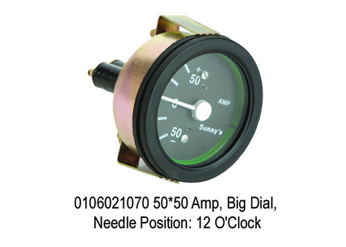 Big Dial, Needle Position 12 O'Clock