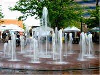 Rain Dance Fountain