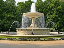 Multipattern Garden Fountain