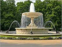 Multipattern Garden Fountain