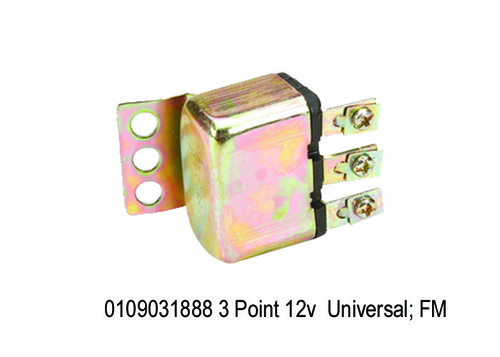 3 Point 12v Sheet Body, PMP Type; FM