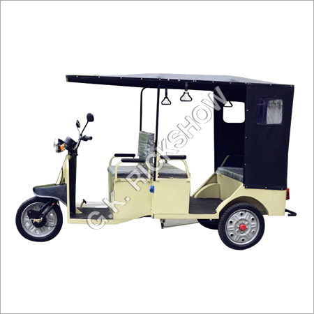 Rechargeable Electric Rickshaw