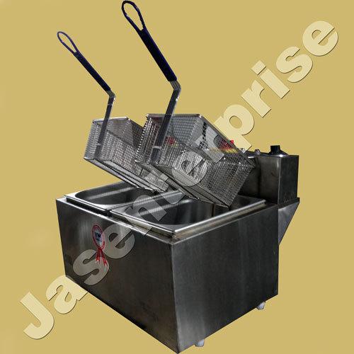 Stainless steel Twin Tank Electric Deep Fryer