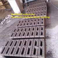 Hydraulic Hollow Blocks Making Machine
