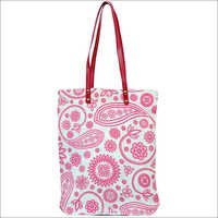 Printed ladies fancy Jute Bag