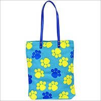 Printed ladies Jute Bag