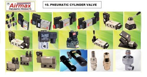 Pneumatic cylinder valves