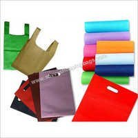 Colored Non Woven Carry Bags
