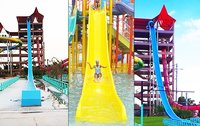 Free Fall Water Slides