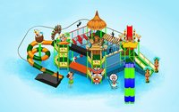 Jungle  Theme Water Play Systems for Kids