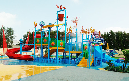 Jungle Theme Water Fun Play System 4 Platform