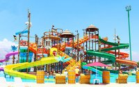 Pirate Theme Water Play Structure 4 Platform