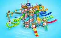 17 Platform Water Play System