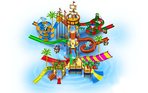 Magic Theme Water Fun Play System 7 Platform
