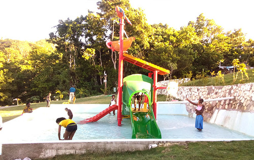 1 Platform Water Play System