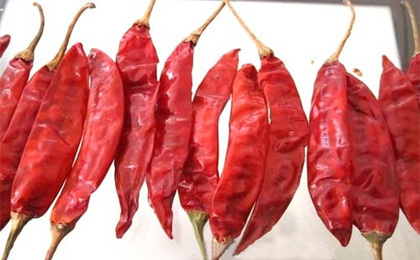 Dried Redchilli