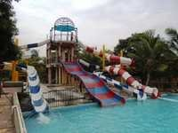Combination Water Slide from 25 Ft ht