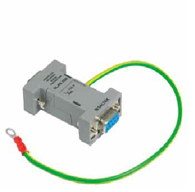 Surge arrester for the interface RS DSUB 9 or arrester 25 connectors