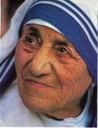 mother teresa Portraits