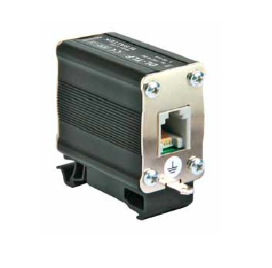 Surge arrester for telecommunications RJ12 connectors for DL-TLF