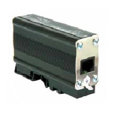 Surge arrester for telecommunications RJ45 connectors