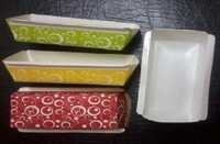 paper plum cake mould colored