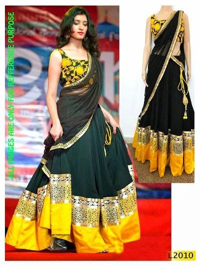 Bollywood Replica Lehenga Saree
