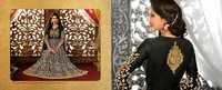 Black Designer Long Length Salwar Kameez