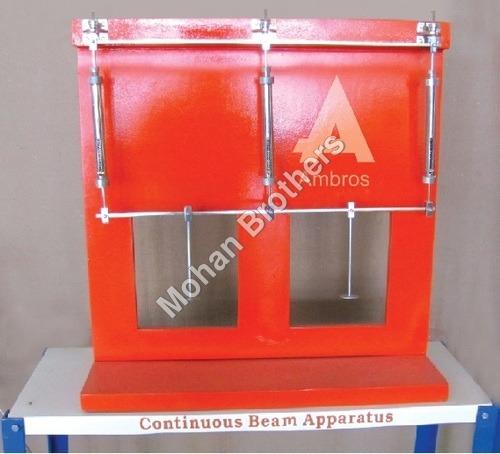Elastically Coupled Beam Apparatus