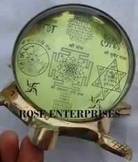 Shubh Labh Tortoise Shree Yantra \ Vastu Subh Labh