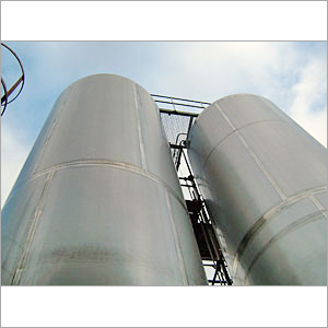 Chemical Storage Steel Tank