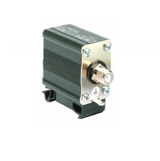 Surge arrester for video circuits BNC and F connectors or screw-less terminals