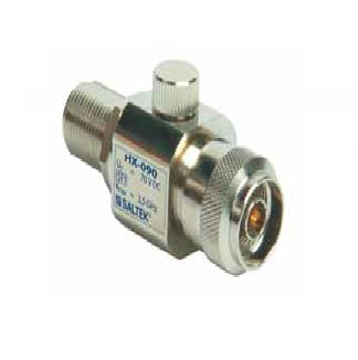 Lightning current arrester for coaxial line N50 connectors