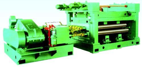 Four high leveller machine