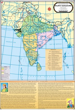 Rajput Kingdoms Map