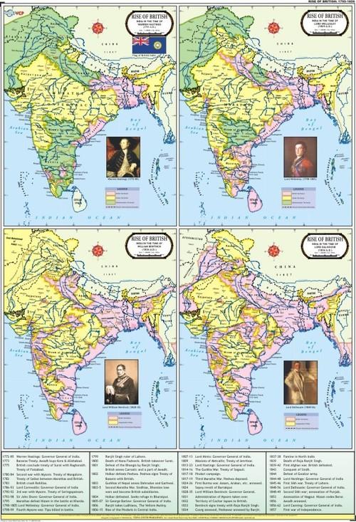 Rise of British Map