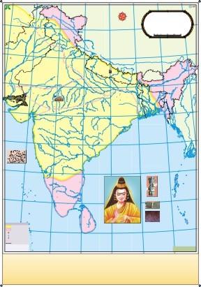 Golden Period of Ashoka Map
